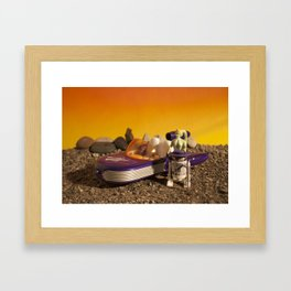 Pimp Speeder Framed Art Print