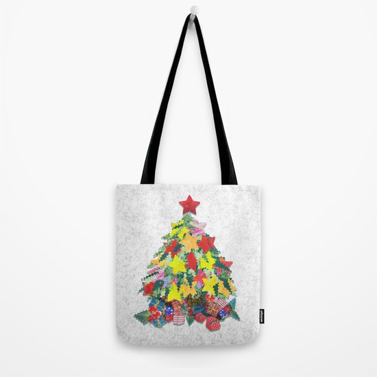Santa's Work is Done Tote Bag