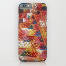 Pyramid by Lu iPhone Case