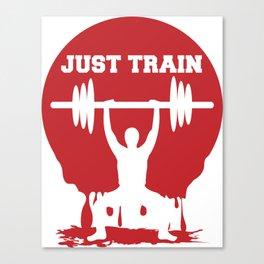 Just train Canvas Print
