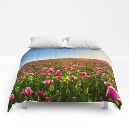 Floral Valley Comforters