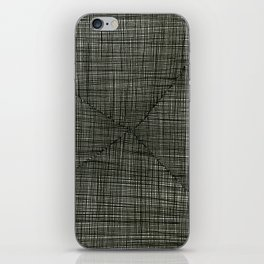 Ink Weaves: Charcoal iPhone Skin
