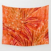 spice Wall Tapestries featuring Spice Island by Vikki Salmela