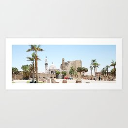 Temple of Luxor, no. 14 Art Print