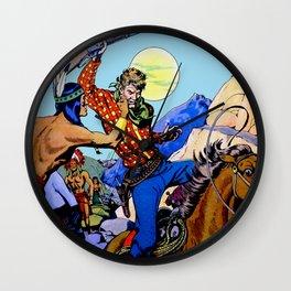 Western I Wall Clock
