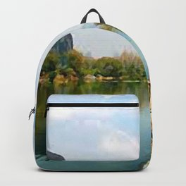 painting of Guilin China  Backpack