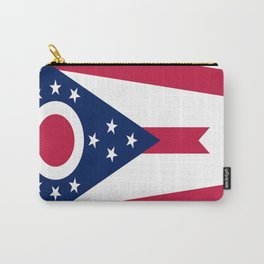 flag of Ohio,Midwest,Ohioan,Buckeye,Colombus,Cleveland,Cincinnati,Usa,america,united states,us Carry-All Pouch
