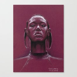 Gorgeous african Canvas Print