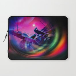 Our world is a magic - Time Tunnel 2 Laptop Sleeve