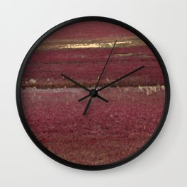Cape Cod Cranberry Bog Wall Clock