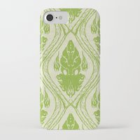cthulu iPhone & iPod Cases featuring Patternthulu by Karate Dumptruck