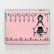 Lady Cake Laptop & iPad Skin