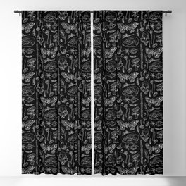 Witchcraft II [B&W] Blackout Curtain