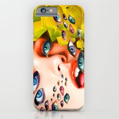 What You looking at? (collage) Slim Case iPhone 6s