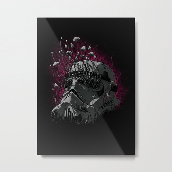 Shroom Trooper Metal Print