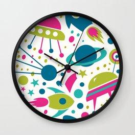 Toys Pattern 01 Wall Clock