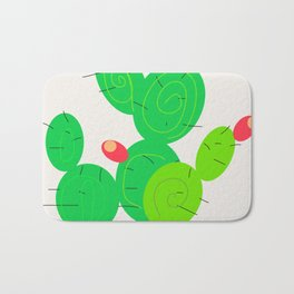 Potted Cactus Bath Mat