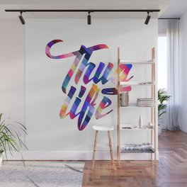 Cool Thug Life Design Wall Mural