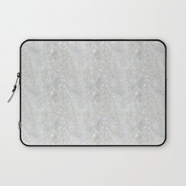 White Apophyllite Close-Up Crystal Laptop Sleeve
