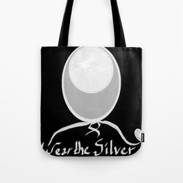 Wear the Silver Brain Cancer Awareness Tote Bag