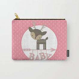 Baby Deer Carry-All Pouch