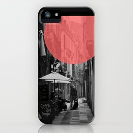 Venice Caffe del doge iPhone Case