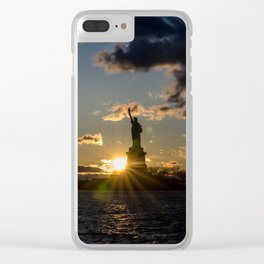 Liberty Starburst Clear iPhone Case