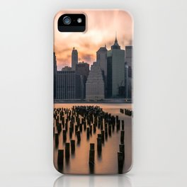 New york city long exposure iPhone Case