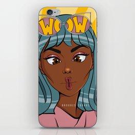 Wow Pop Art iPhone Skin