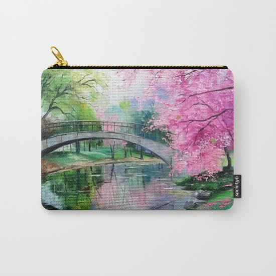Flowering cherry Carry-All Pouch