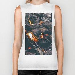 Burn Brightly Biker Tank