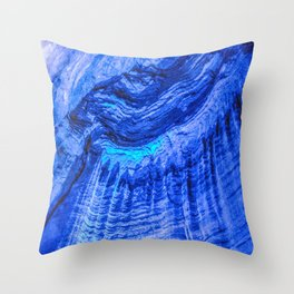 The Eye of Ruby Throw Pillow