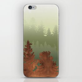 Treescape Green iPhone Skin