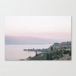 Sunset in Summerland Canvas Print