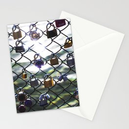 Locked Down Stationery Cards