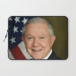 Jeff Sessions Portrait Laptop Sleeve
