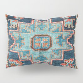 Karabakh  Antique South Caucasus Azerbaijan Rug Print Pillow Sham