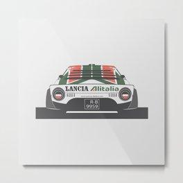Lancia Stratos Rear Metal Print