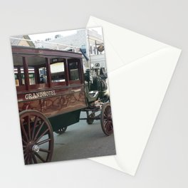 Mackinac Island Carriage Ride to Grand Hotel Stationery Cards