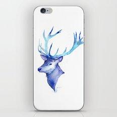 Blue Antlers iPhone & iPod Skin