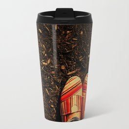 Shoes in the Mulch Travel Mug