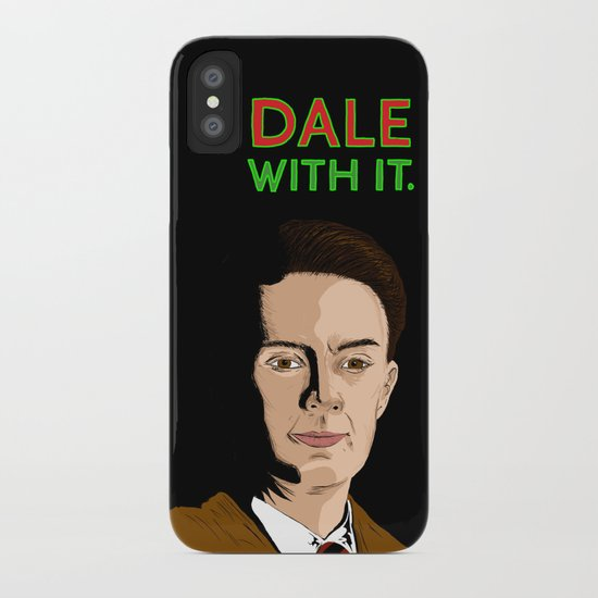 DALE WITH IT. iPhone Case