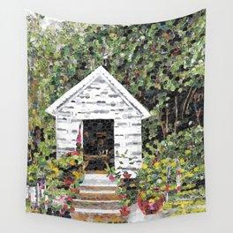 """Garden Getaway"" Wall Tapestry"