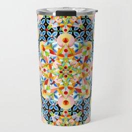 Elizabethan Pastel Mandala Travel Mug