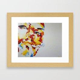 chillaxing attitude Framed Art Print