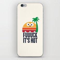 Heated Rhetoric iPhone & iPod Skin