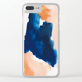 thursday afternoon: abstract painting Clear iPhone Case