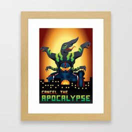 Pacific Rim - Cancel The Apocalypse Framed Art Print