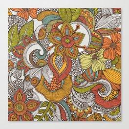 Ava's garden iPhone case Canvas Print