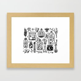 The Tiny Witch Gallery Framed Art Print